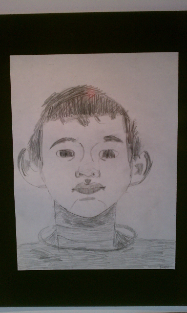 Self-Portrait_Isaac_age_11
